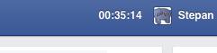 fb timer extension for chrome